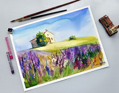 """Check out new work on my @Behance portfolio: """"in Provence"""" http://on.be.net/1UpGRmo"""