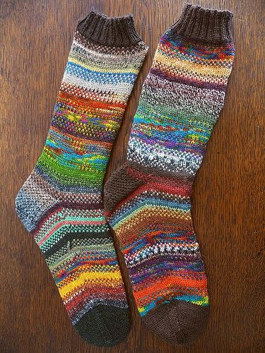 Ravelry: Fade-In-Fade-Out Socken pattern by Christiane Eichler