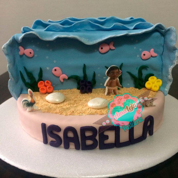Torta Moana Realiza tu pedido por; https://goo.gl/mvYBYv WhatsApp: 3058556189, fijo 8374484  correo info@amaleju.com.co Síguenos en Twitter: @amaleju / Instagram: AmaLeju #torta #Cake #disney #moana