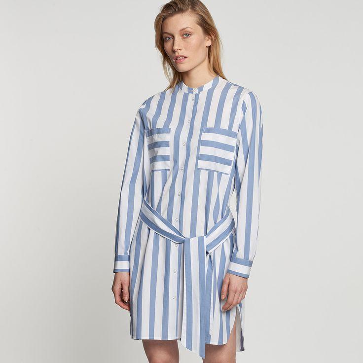 Satin Midi Kleid aus 100% Baumwolle | Kleider ...