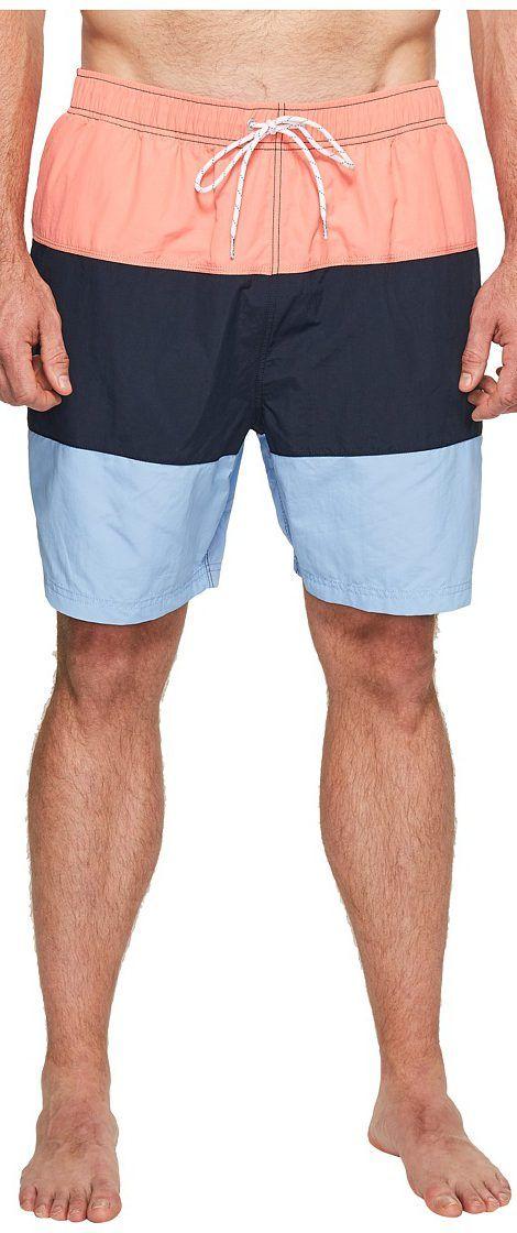 Nautica Big & Tall Big Tall New Fashion Colors Swim (Pale Coral) Men's Swimwear - Nautica Big & Tall, Big Tall New Fashion Colors Swim, F71006-643, Apparel Bottom Swimwear, Swimwear, Bottom, Apparel, Clothes Clothing, Gift - Outfit Ideas And Street Style 2017