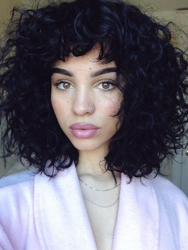 best 25 curly hair with bangs ideas on pinterest bangs