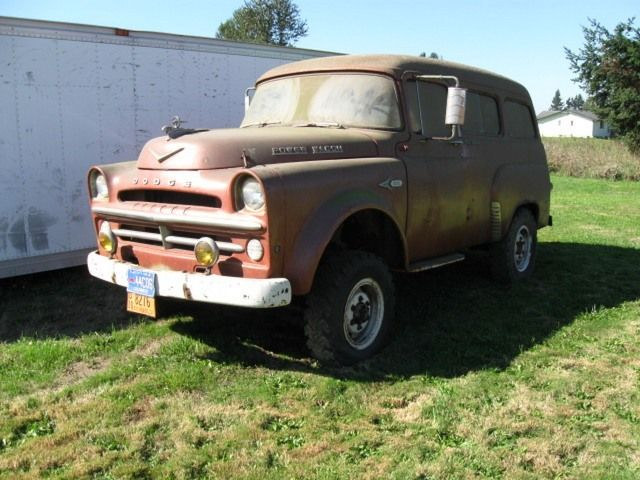 1957 TWPW's & 58 W100 parts truck package $9,500 [WA] | 4X4-4SALE | Pinterest | Dodge trucks ...