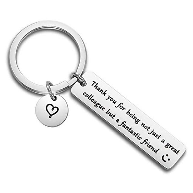 Fashion Keyring Gifts Engraved Drive Safe For Dad Car Keychain Metal Key Rings Women Men Friend Diy Key Chain Pendant Jewelry Keychain Design Gifts For Coworkers Keychain