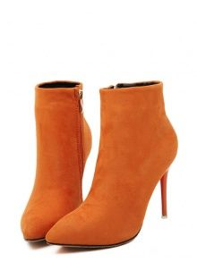 Candy color sweet boots fashion ...