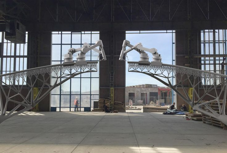 1 | This Robot Can 3-D Print A Steel Bridge In Mid-Air | Co.Design | business + design