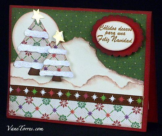 Tarjeta de Navidad Arbolito