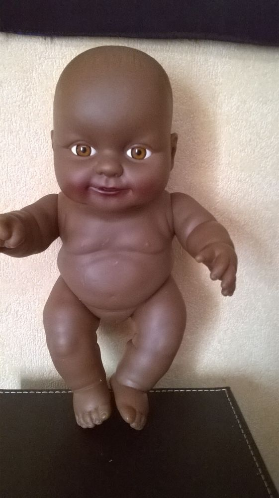 Sum Sum black ethnic small baby doll / 6.5 inches / good condition #SumSum