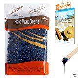 #8: Plazuria Hair Removal Hard Wax Beans Stripless Full-Body Depilatory Wax Beads Chamomile (10oz)