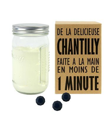 De la crème chantilly simple et écologique