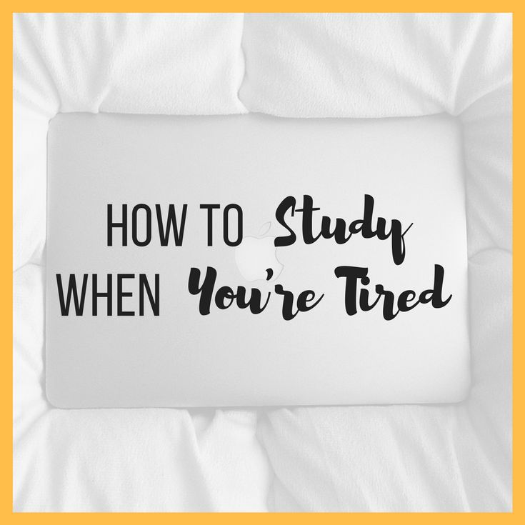 We've all been there. You're trying to study but your eyelids are drooping and your brain feels fuzzy. You feel like you've had a long year not just a long day. This post will give you 7 ways to study when you're tired.Tips to wake yourself up, work out when you feel most awake, recognise [...]