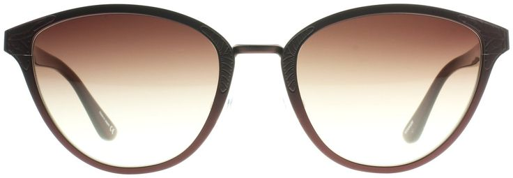 Oliver Peoples  Burgundy with Spice Brown Gradient Sunglasses: Clothing