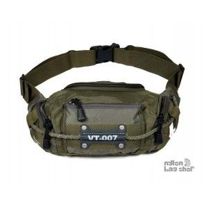black water proof fanny pack