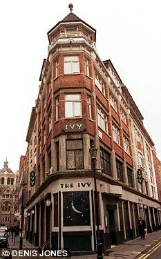 The Ivy restaurant, London. if you're ever in London go here.