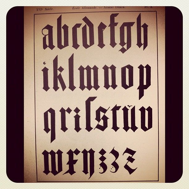 Durer typography | Flickr - Photo Sharing!