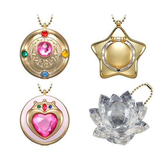 """sailor moon"" ""sailor moon toys"" ""sailor moon merchandise"" ""sailor moon compact"" ""star locket"" ""silver crystal"" ""sailor moon brooch"" ""candy toy"" bandai anime shop japan"