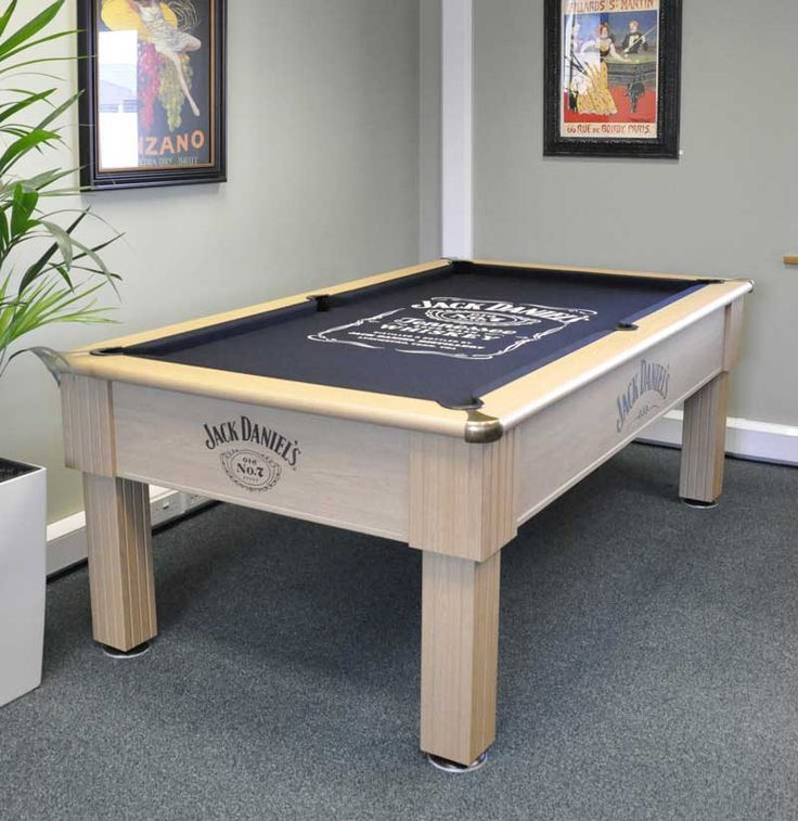 Jack Danielu0027s Winchester Pool Table