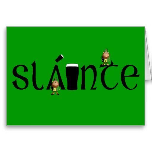 happy birthday irish images | irish happy birthday cards for irish folk wanting to say slainte on ...