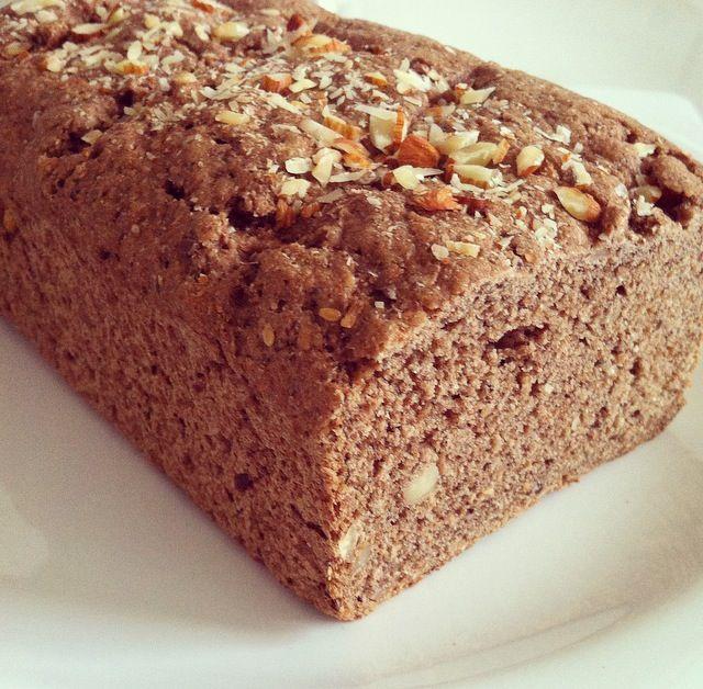 Pan Integral Con Almendras Semillas Y Cacao Wholemeal Bread