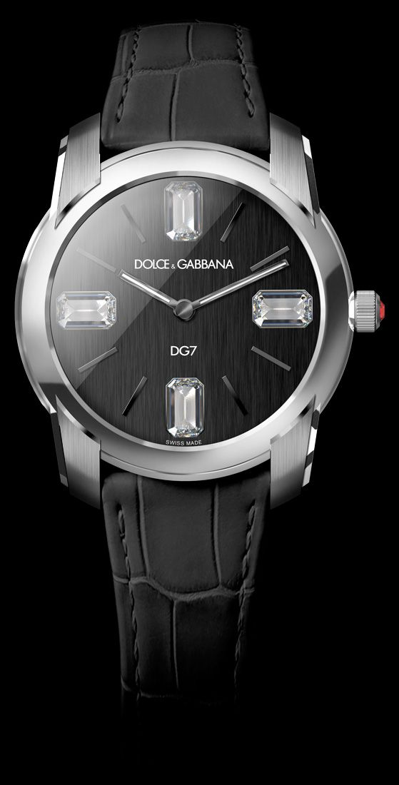 Women's Watch - White Gold Case with Diamonds - D&G Watches | Dolce & Gabbana Watches for Men and Women