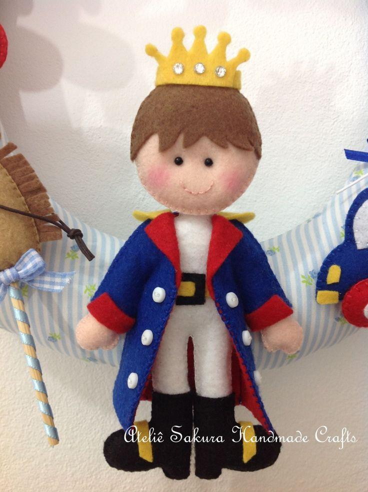 Idée Le Petit Prince Felt prince