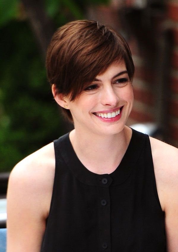 super cute short haircuts best 25 hathaway pixie ideas on 2014 2510 | 659e8acc3a1da79f02549f896e3d1d2b cool short haircuts super short hairstyles