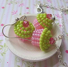 would a cupcake help?   * not earrings ... cell phone charm, zipper pull ...