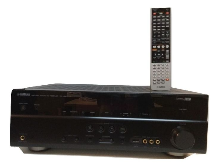 Yamaha RX V667 7.2 Channel 230 Watt Receiver | Consumer Electronics, TV, Video & Home Audio, Home Theater Receivers | eBay!