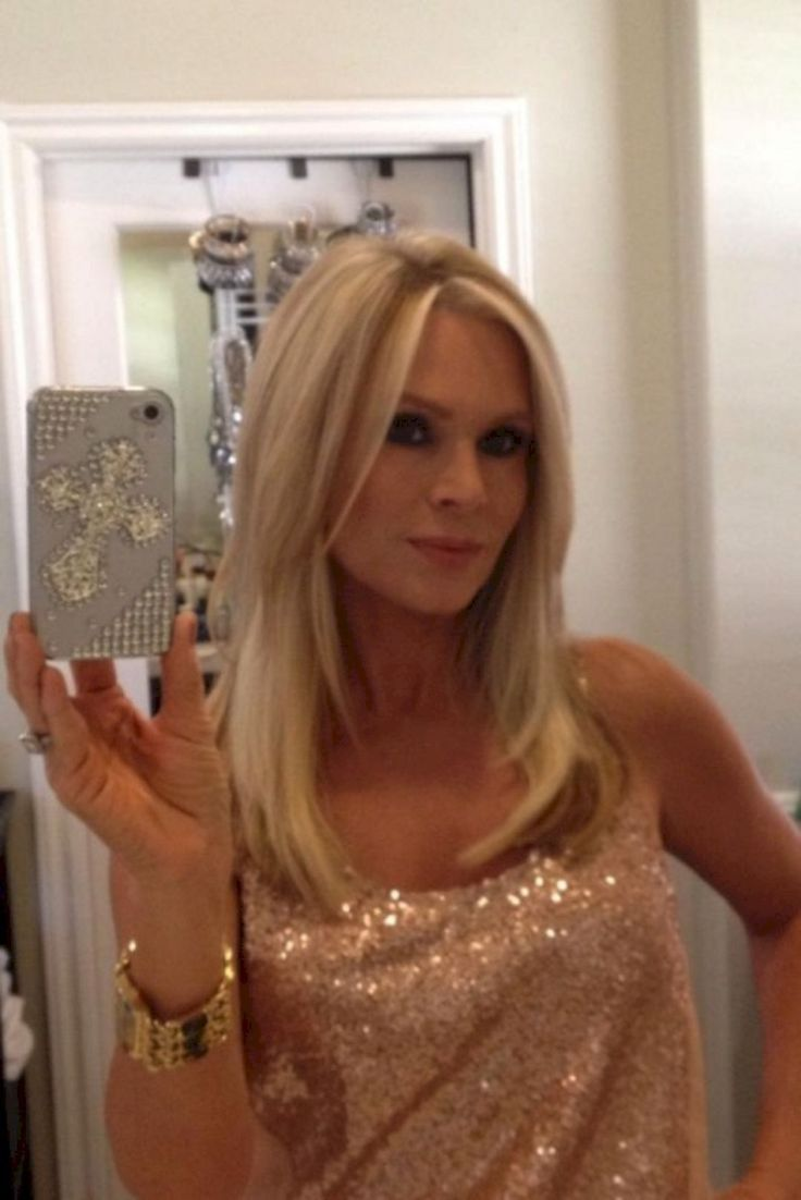 Tamra Barney At Big Blonde Hair 1