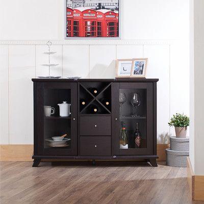 Hokku Designs Venetta Dining Buffet Cabinet & Reviews | Wayfair