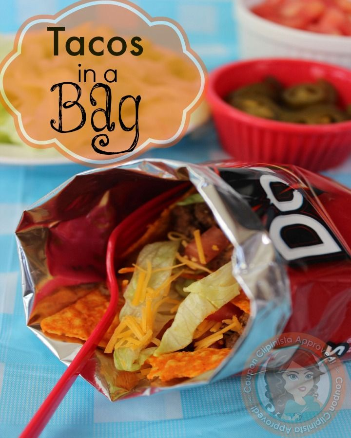 Best 20  Taco in a bag ideas on Pinterest