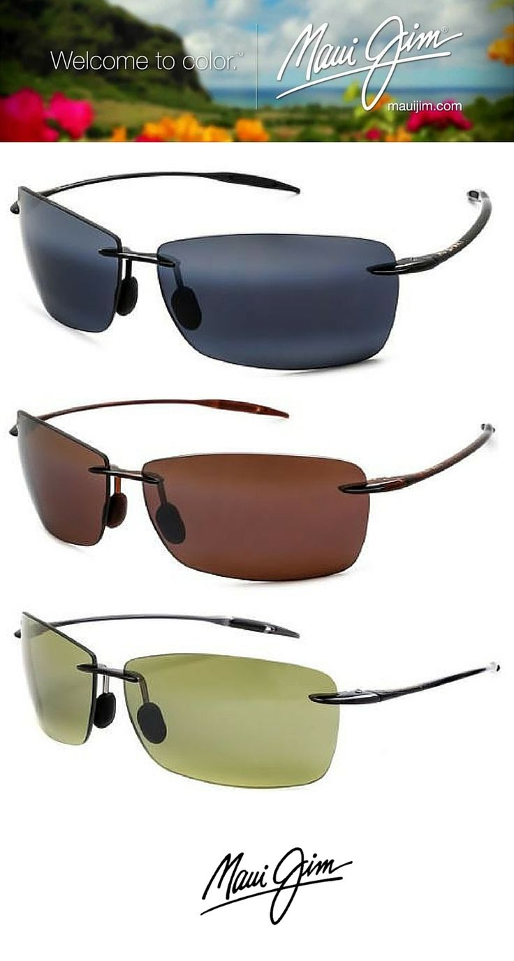 Perfect sunglasses for the summer - Maui Jim! Made for the sea! http://www.smartbuyglasses.com/designer-sunglasses/Maui-Jim/Maui-Jim-Lighthouse-Polarized-423-02-108659.html