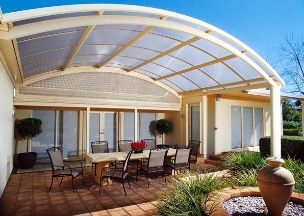 curved roof house - Google Search | Curves | Patio roof ...