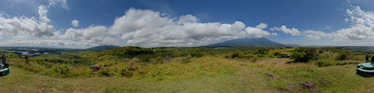 Arusha National Park, situated between Mount Kilimanjaro and its neighbouring dormant volcano, Mount Meru. The park is approximately 552 square kilometres.