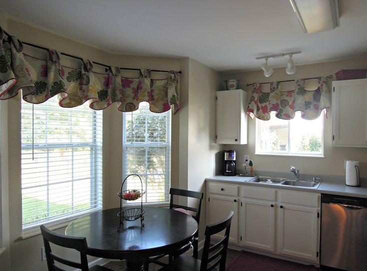 Image Of: Kitchen Window Valances Waverly