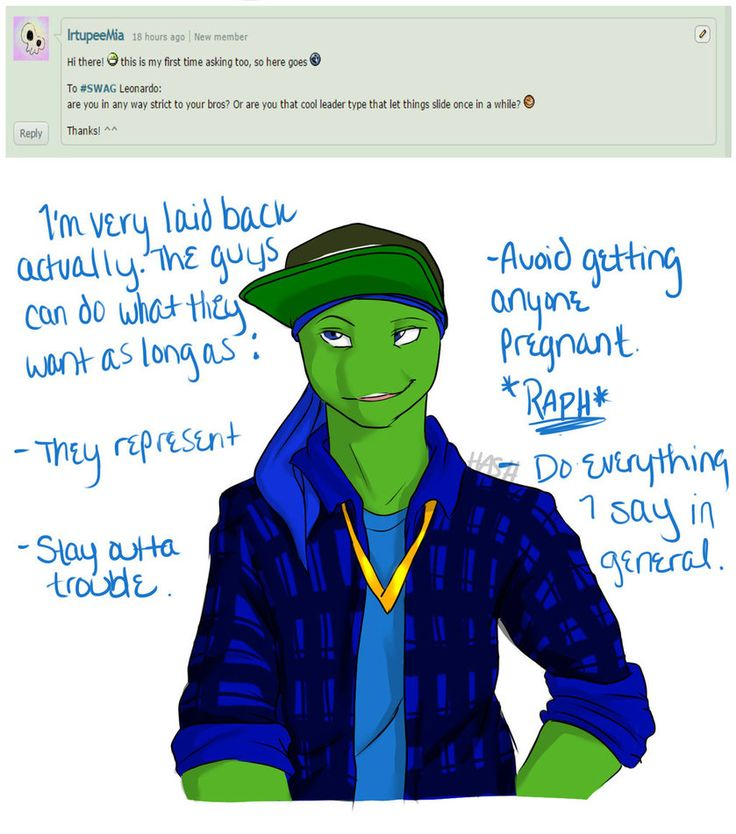Ask Swag 2 By Hashiree On Deviantart Tmnt Swag Tmnt