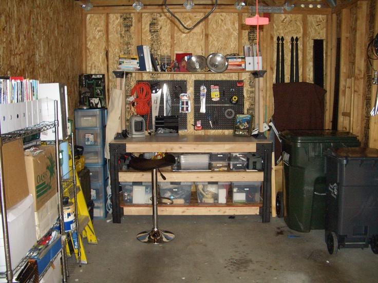 After #6: Garage turned workshop