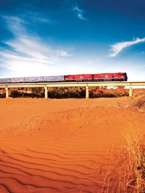 The Ghan - Rail Plus Australia