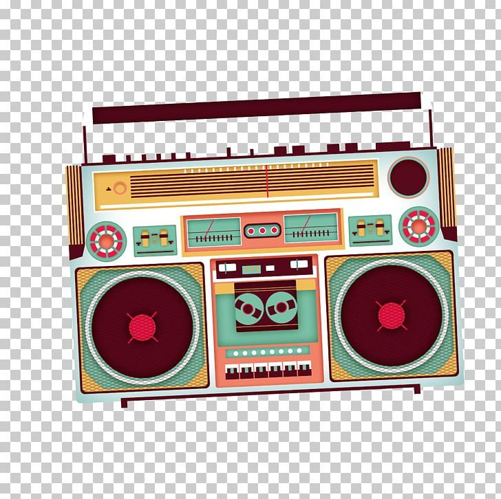 Poster Tape Recorder Png Boombox Brand Broadcast Electronic Electronics Free Clip Art Tape Recorder Clip Art