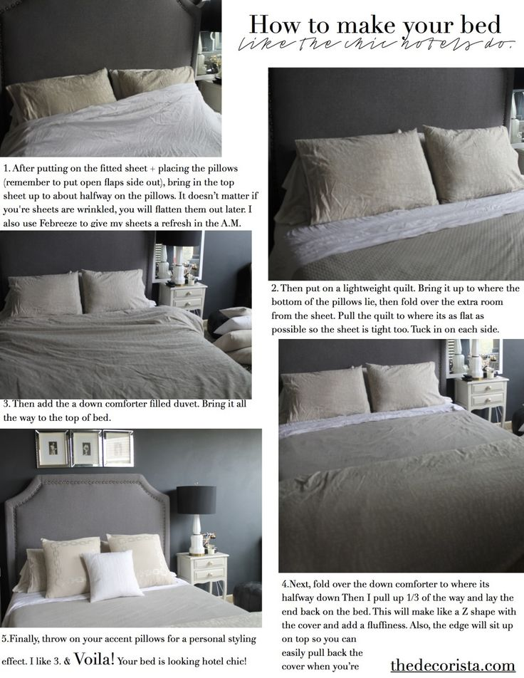 How To Make Your Bed The Hotel Way The O 39 Jays Chic And