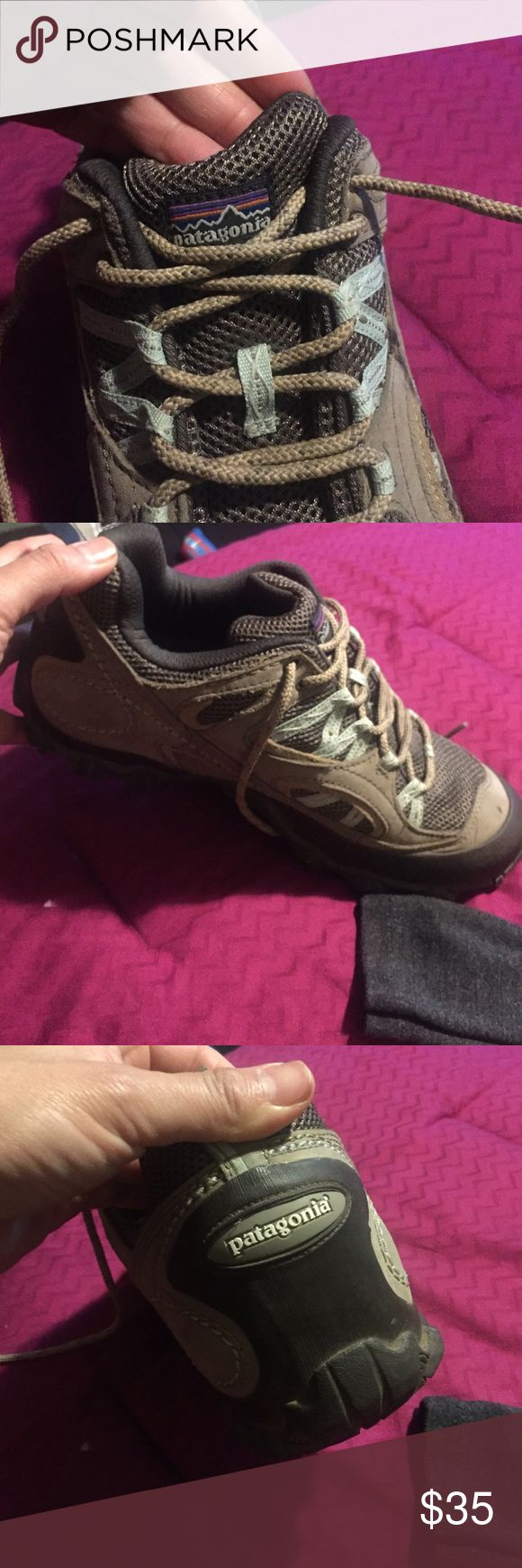 Hiking boots In good condition hiking shoes Patagonia Shoes Athletic Shoes