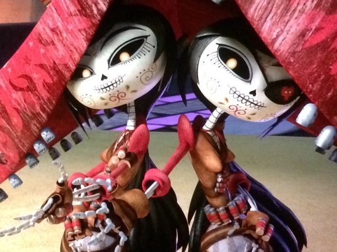 The Book Of Life Sanchez Sisters