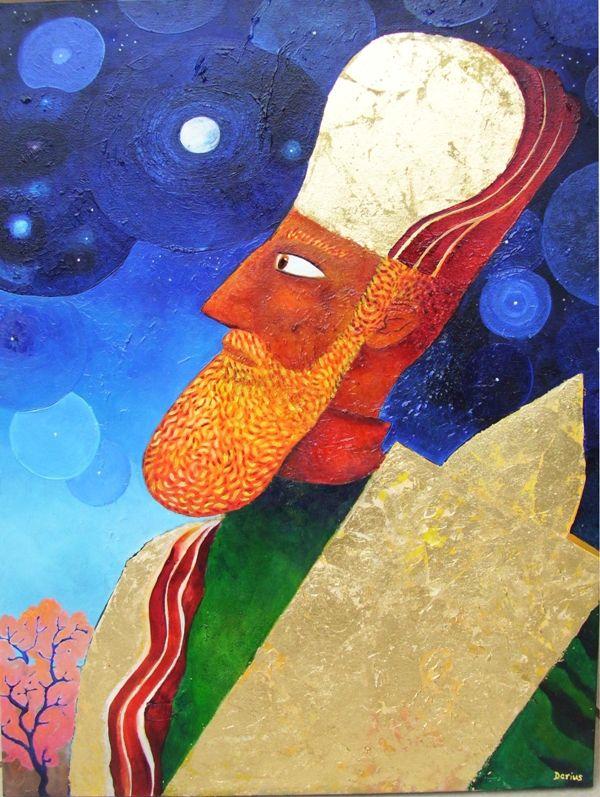 Darius Gilmont, High Priest Contemplating Eternity