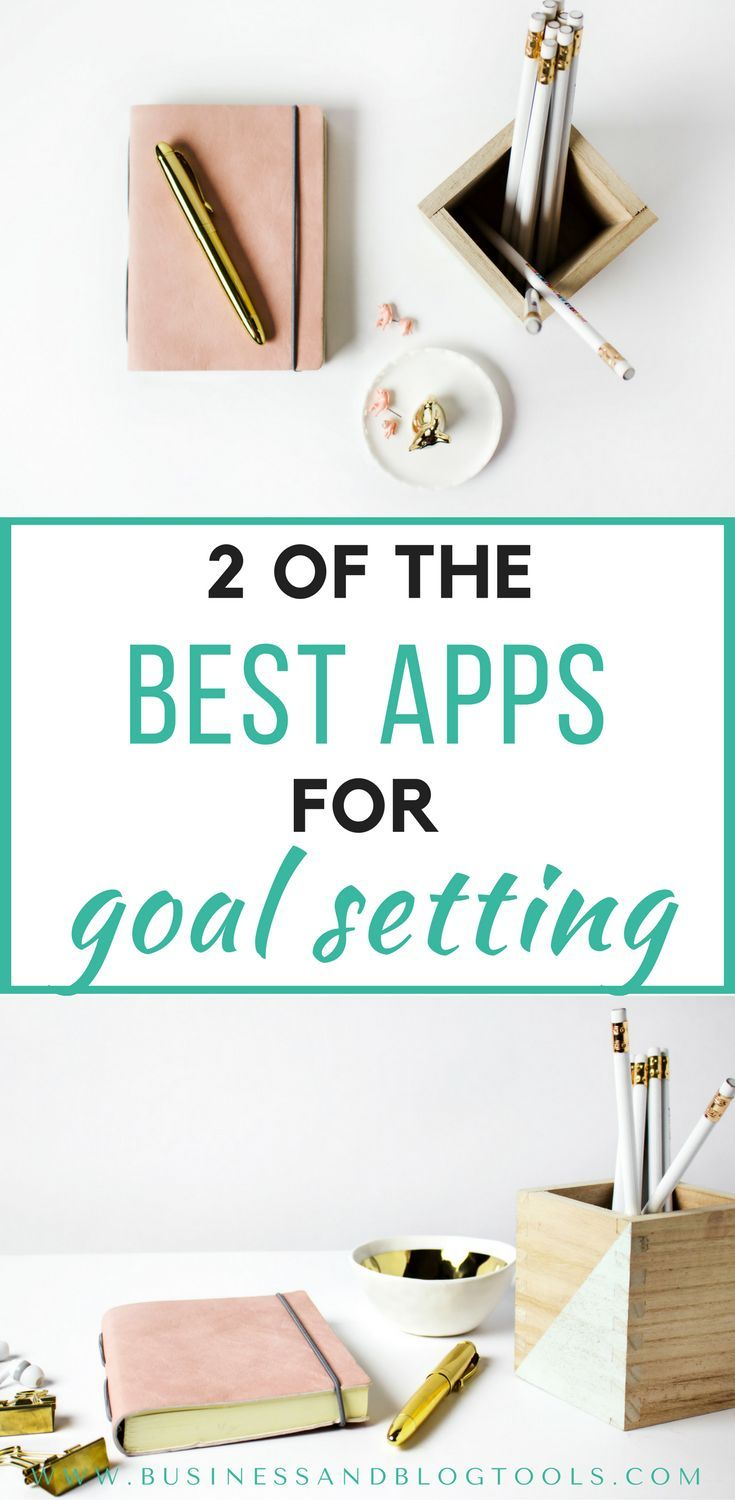 Overwhelmed? Need help setting goals? Here are 2 apps for goal setting that can help you stay motivated and productive!