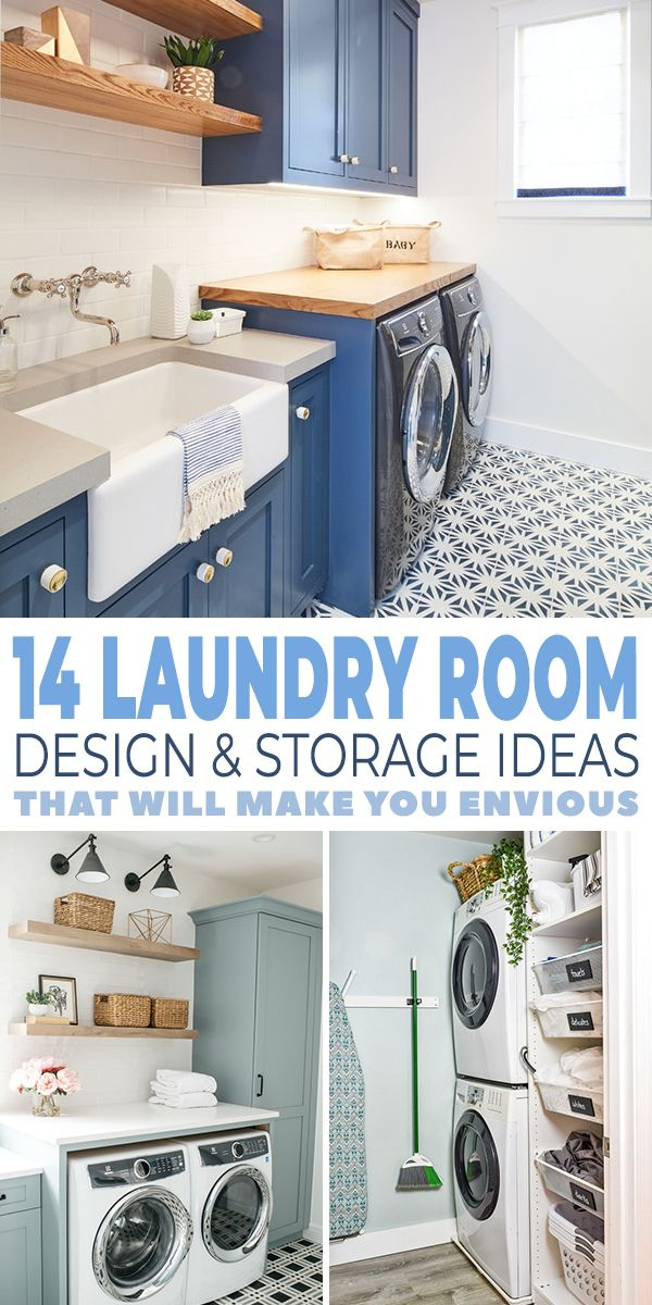 14 Laundry Room Design Ideas That Will Make You Envious Ohmeohmy Blog Laundry Room Design Laundry Room Laundry In Bathroom