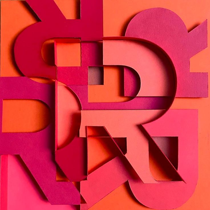 New Typographic Paper Artworks by Sabeena Karnik – Inspiration Grid | Design Inspiration