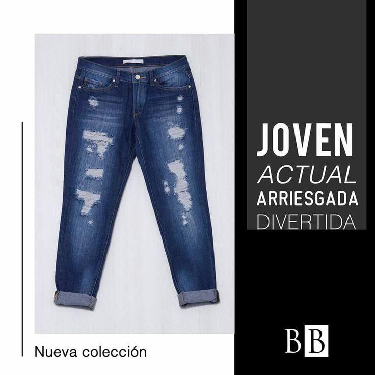 Un estilo joven, con detalles un jean que toda fashionista debe tener en su closet.