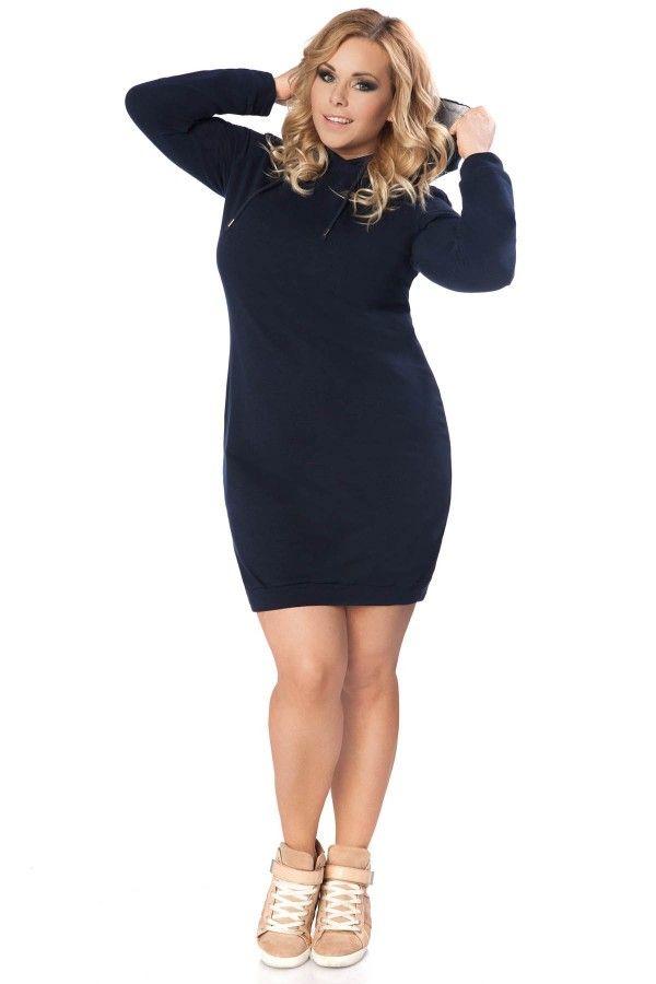 Sukienka Beata Size Plus - Tessita