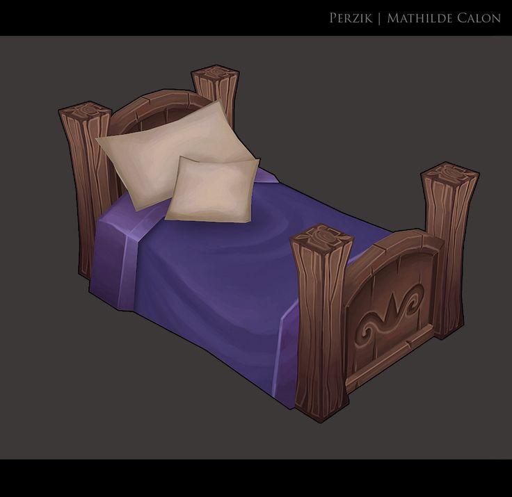 Diorama : Bed time !, Mathilde Calon on ArtStation at https://www.artstation.com/artwork/diorama-bed-time