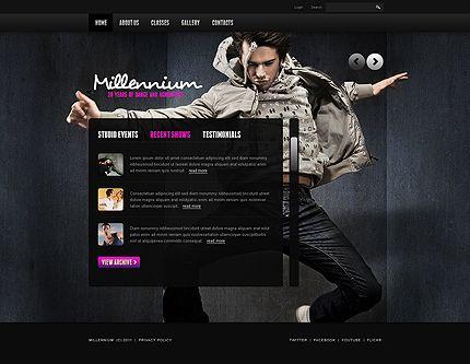 27 best Dance Website Templates images on Pinterest   Website ...